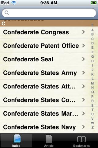 The Confederacy Study Guide screenshot #2