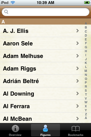 All Time Los Angeles Baseball Roster screenshot #1