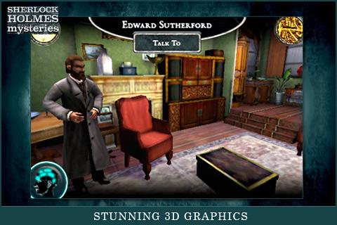 Sherlock Holmes Mysteries screenshot #2