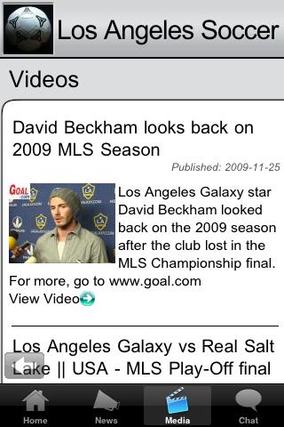 Soccer Fans - Los Angeles G screenshot #2