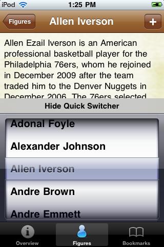 All Time Memphis Basketball Roster screenshot #3