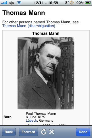 Thomas Mann Quotes screenshot #1
