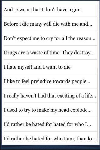 Kurt Cobain Quotes screenshot #3