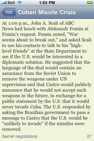 The Cuban Missile Crisis screenshot #2