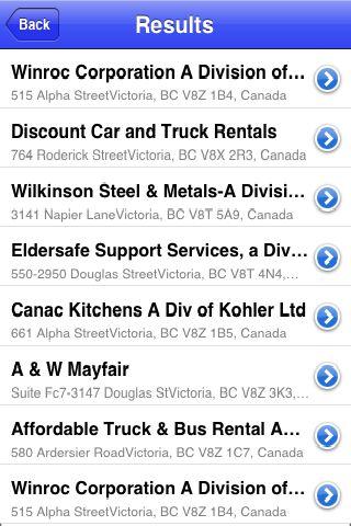 iLocate - Family Restaurants screenshot #4