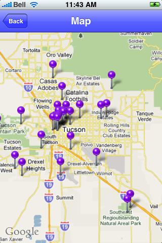 Tucson, Arizona Sights screenshot #1