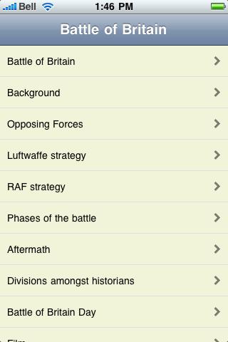 The Battle of Britain screenshot #1