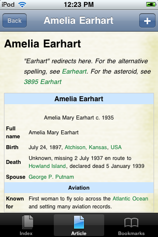 Amelia Earhart Study Guide screenshot #1