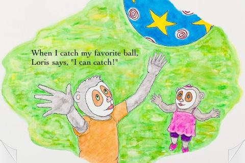 Loris and the Runaway Ball screenshot 2