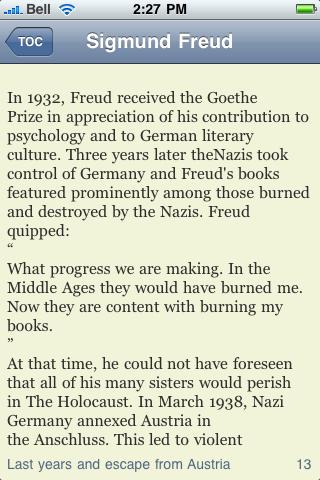 Sigmund Freud screenshot #2