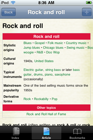 Rock and Roll Study Guide screenshot #1