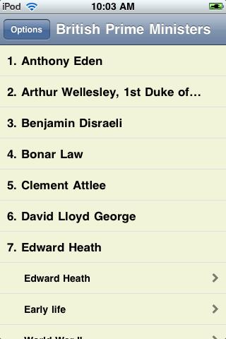 Prime Ministers of the United Kingdom screenshot #3