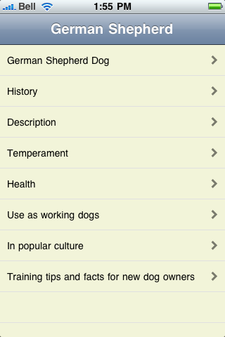 The German Shepherd Book screenshot #1