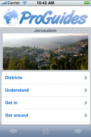 ProGuides - Jerusalem screenshot #1