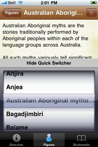 Australian Aborignal Mythology screenshot #3