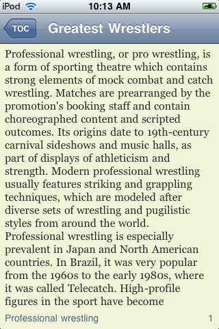 The Greatest Wrestlers of All Time screenshot #2