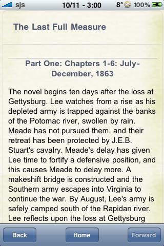 Book Notes - The Last Full Measure screenshot #2