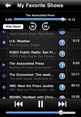 Podcasts - AudioPress Player screenshot #4