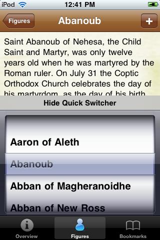 Saints Pocket Book screenshot #3