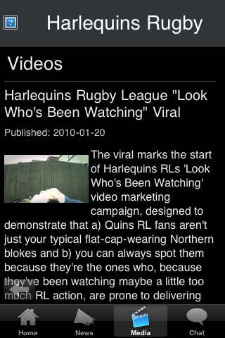 Rugby Fans - London HRLQ screenshot #3