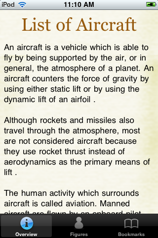 Aircraft Models Pocket Book screenshot #1