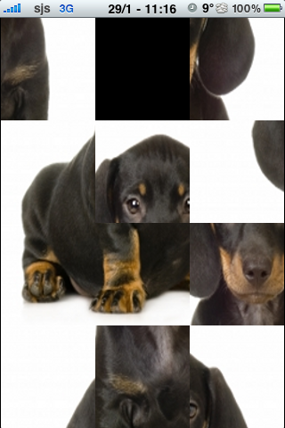 Dachshund Slide Puzzle screenshot #3