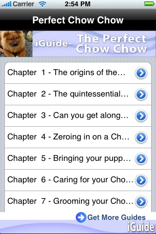 iGuides - The Perfect Chow Chow screenshot #1