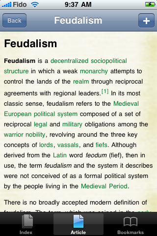Feudalism Study Guide screenshot #1