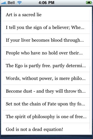 Muhammad Iqbal Quotes screenshot #3