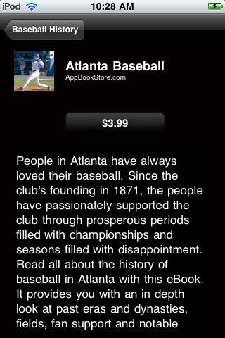 Baseball History screenshot #4