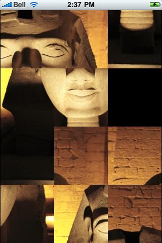 Ancient Egypt Slide Puzzle screenshot #3