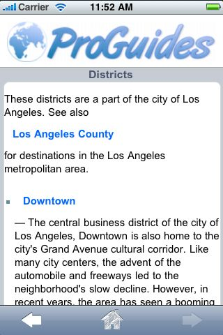 ProGuides - Los Angeles screenshot #3