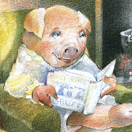 Three Little Pigs, told by Holly Hunter Review