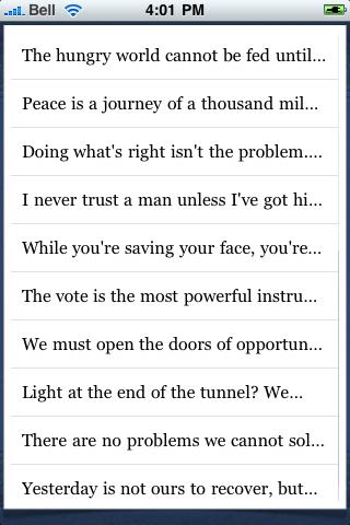 Lyndon B. Johnson Quotes screenshot #3