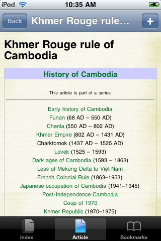 The Khmer Rouge Study Guide screenshot #1