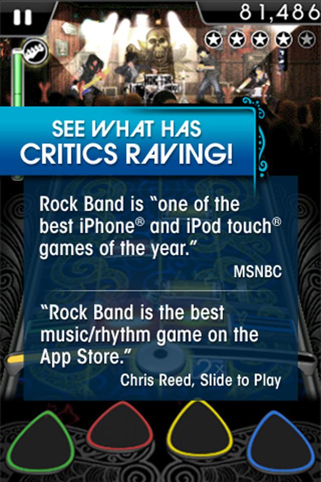 ROCK BAND screenshot 5