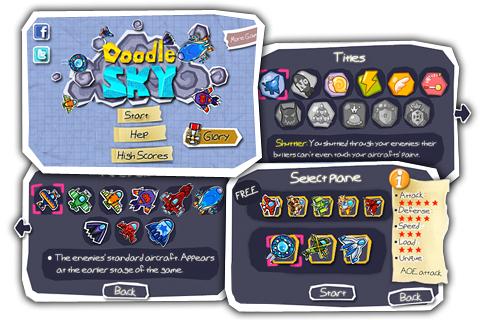 Doodle Sky Pro screenshot 1