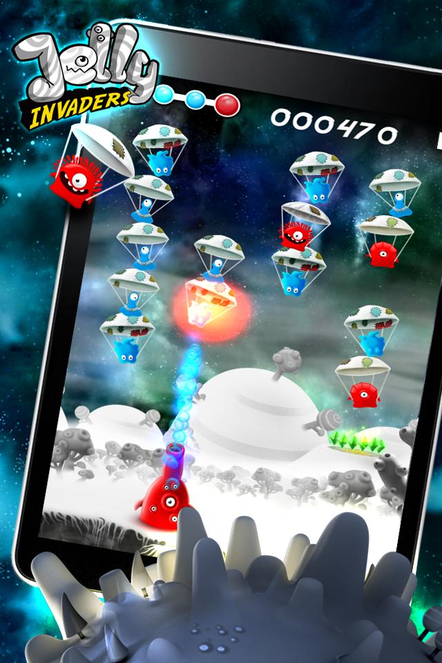 Jelly Invaders screenshot #2