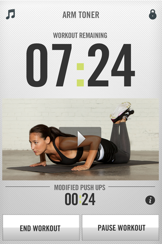 Nike+ Training Club screenshot #3