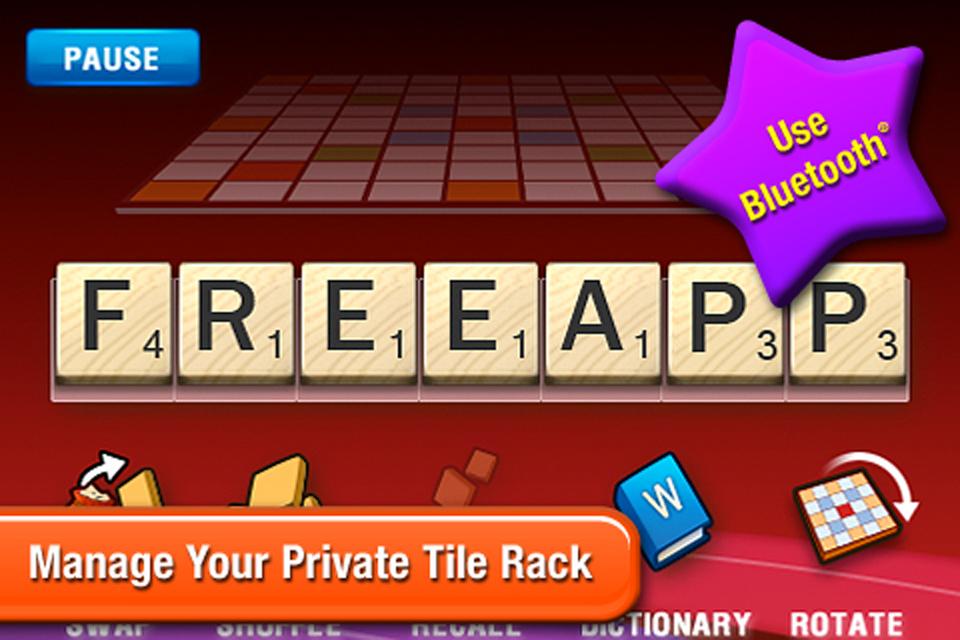 SCRABBLE Tile Rack screenshot #3