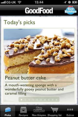 Good Food Cake Recipes - Sponsored by Rice Kris... screenshot #1