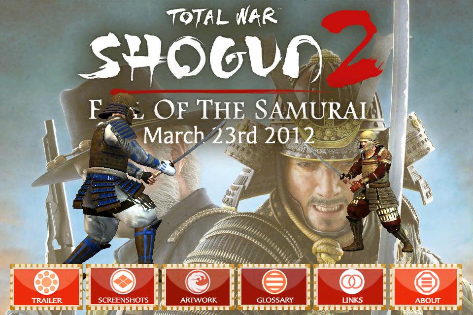 TW: SHOGUN 2 Fall of the Samurai Companion screenshot #1