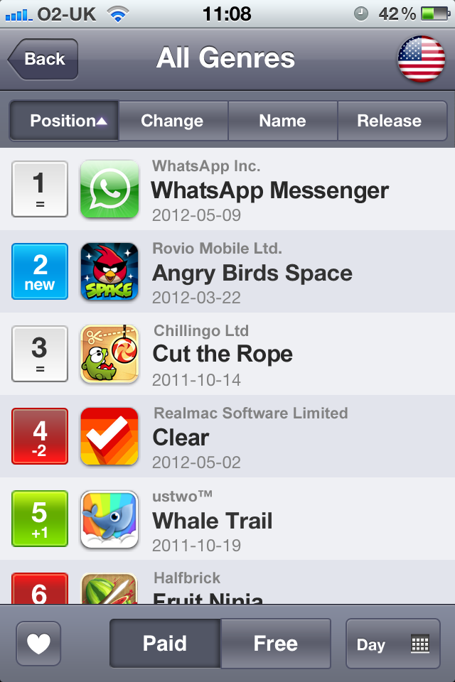 PositionApp™ screenshot #2