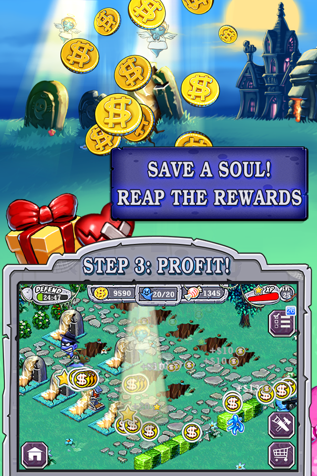 Ghost Harvest screenshot #3