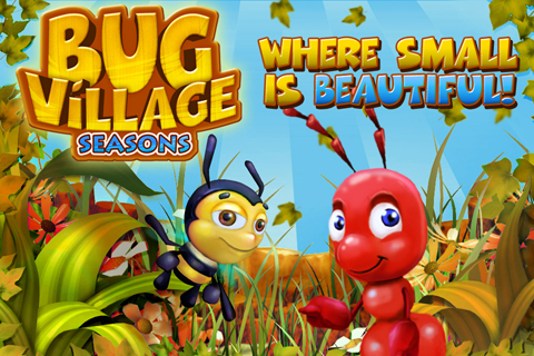 Bug Village Seasons screenshot #1
