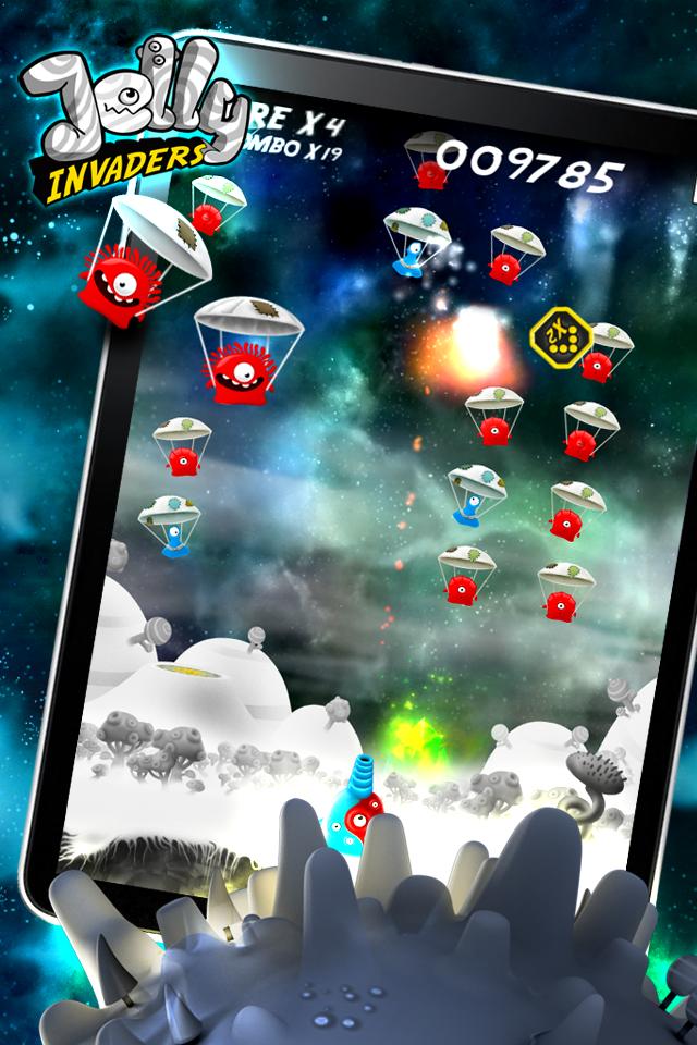 Jelly Invaders screenshot #3