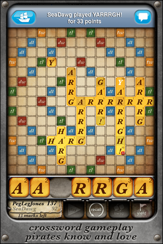 Words With Pirates screenshot 1