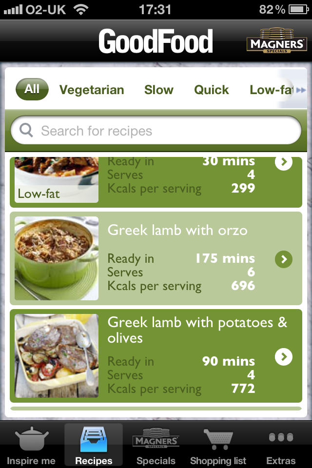 Good Food One-Pot Recipes - Sponsored by Magners Specials screenshot #3