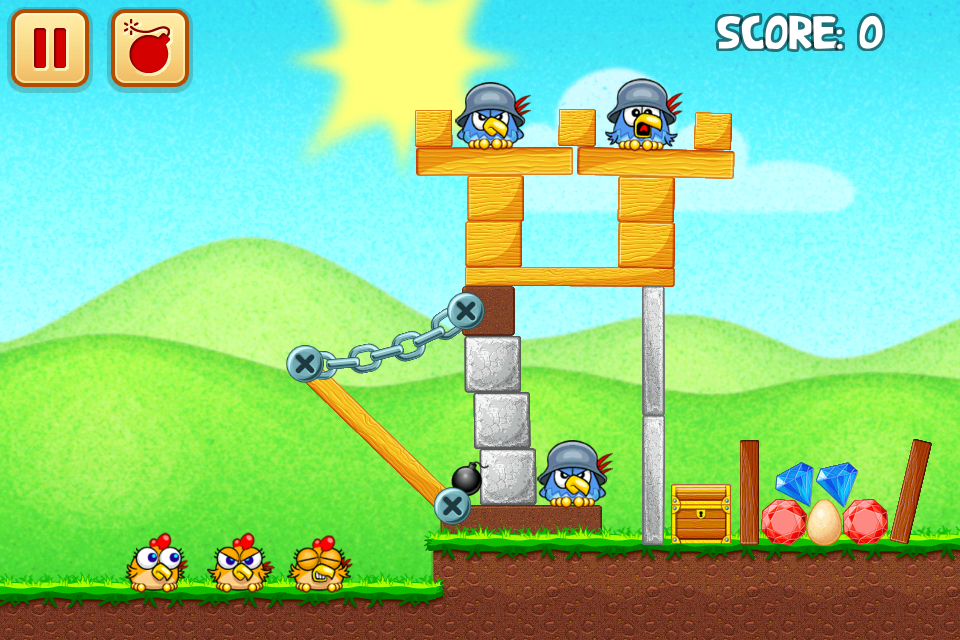 Chicken Raid Begins screenshot #1