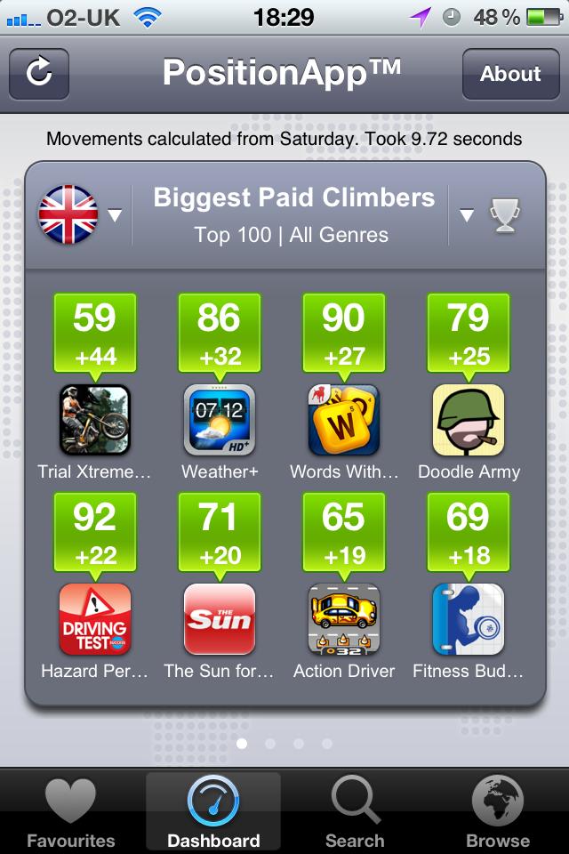 PositionApp™ screenshot #1